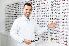 KROK 1:Dobierz odpowiednie szkła okularowe LED Control